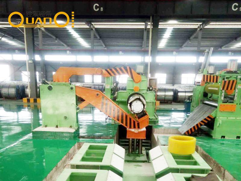 铁板全自动可调式分条机