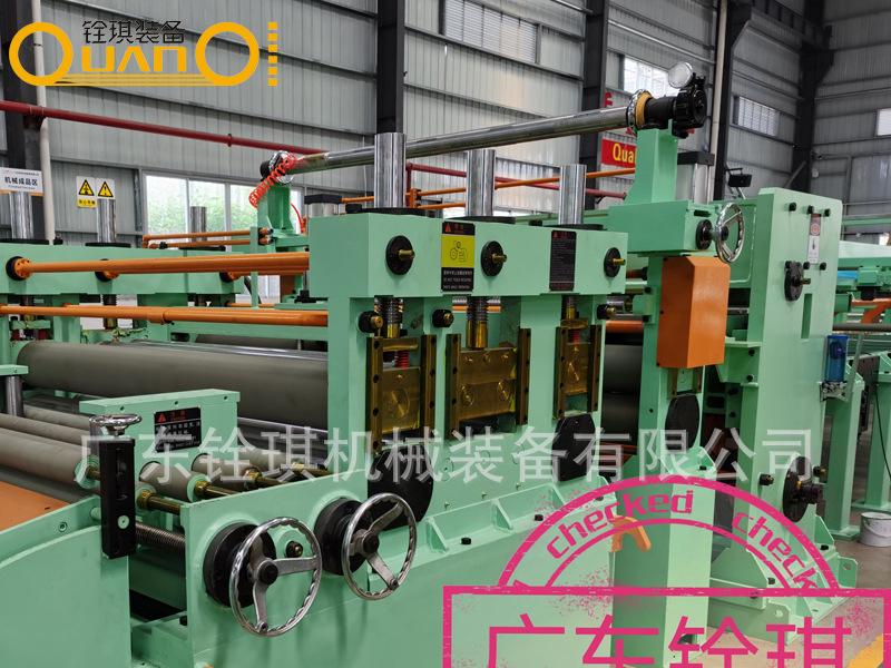 台湾工艺不锈钢卷板开平机