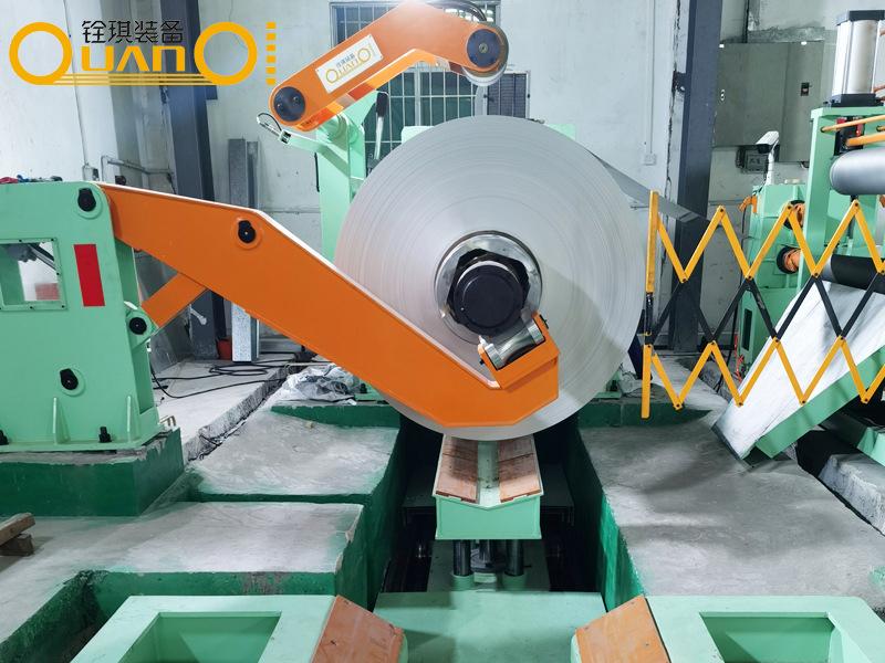 北京不锈钢材纵剪切设备整平横切机