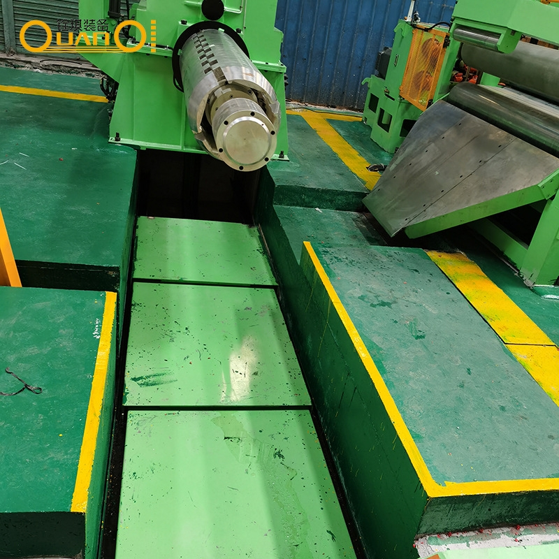 可调式钢板纵剪分切机设备